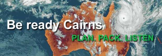 La home page del sito del comune di Cairns