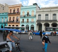 Un esempio di palazzi ristrutturati a L'Havana dalla società Habaguanex