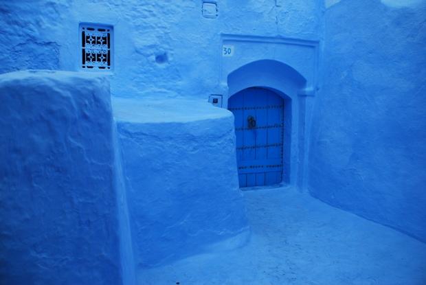 Case Blu Marocco : Chefchaouen la città blu in marocco wi life.com